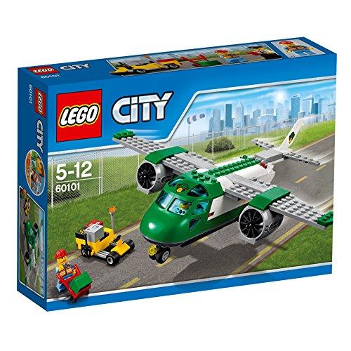 LEGO City 60101 - Flughafen-Frachtflugzeug, Bausteinspielzeug (Lego City Jet)