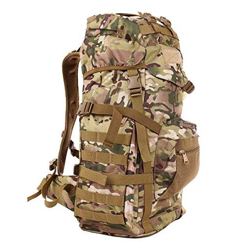 dc4acde779 f70L Tattico Zaino Militare Esterno Attacco Borsa Sportiva Borse Zaino  Caccia Di Campeggio Il