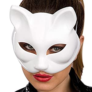 Carnival Juguetes 799 - Máscara del gato negro de plástico duro