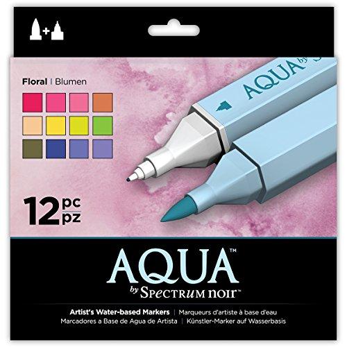 Spectrum Noir Aqua, Plastique, Floral, 19 x 18.4 x 2.1 cm