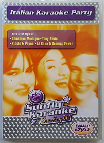 Karaoke-Italian Party Tracks (Video-karaoke-cd)