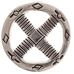 Anhänger Wikinger Rad mit Ornamenten Silber 925 Medizinrad