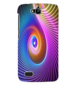 ColourCraft Colours Design Back Case Cover for HUAWEI HONOR HOLLY