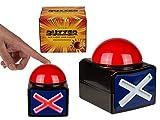 Bouton X Buzzer x x, avec lumière et son Quiz Jeux Party Alarme Duell, jeux Bend...