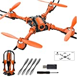 Bangcool 2.4GHz Camera Drone Headless Quadcopter Folding Channel Drone Toy (without Remote Control)