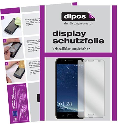 dipos I 2X Schutzfolie klar passend für M-Horse Power 2 Folie Displayschutzfolie
