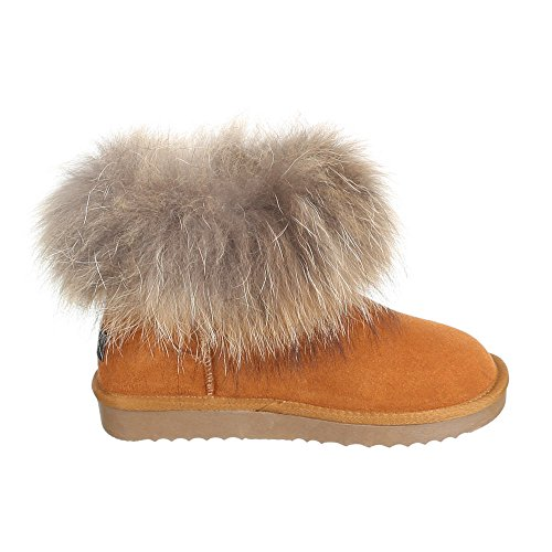 Chaussures, bottines 8902 Marron - Camel
