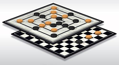 Schmidt-Spiele-49083-Classic-Line-Dame-Mhle-grSpielfiguren