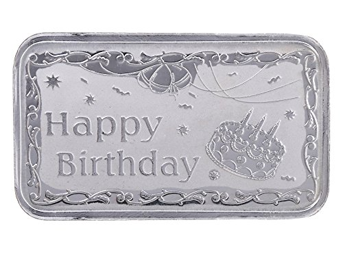 Ananth Jewels BIS Hallmarked 990 Purity Silver BAR 10 grams Happy Birthday Gift