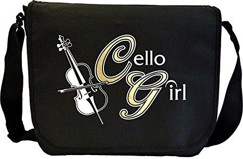 Cello Girl - Sheet Music Document Bag Musik Notentasche (Dirigent Outfit)