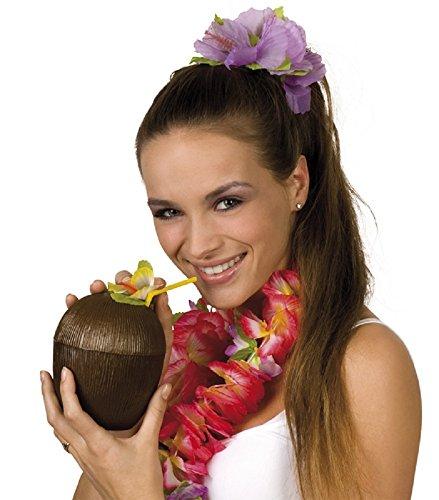 Kokosnuss Becher Hawaii - Tolles Accessoire zum Südsee (Südsee Kostüme)