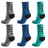 Hummel 6 Paar Damen und Herren Socken Fundamental 6er Pack