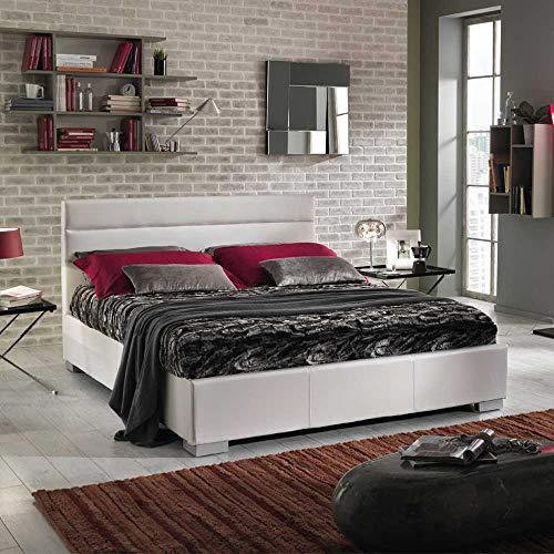 Pharao24 Polsterbett mit Bettkasten und Lattenrost 160x200