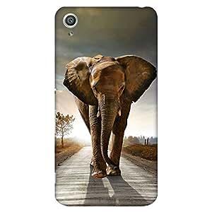 Bhishoom Designer Printed Back Case Cover for Sony Xperia Z3+ :: Sony Xperia Z3 Plus :: Sony Xperia Z3+ dual :: Sony Xperia Z3 Plus E6533 E6553 :: Sony Xperia Z4 (Elephant :: Animal :: Pet :: Wildlife :: Scenery)