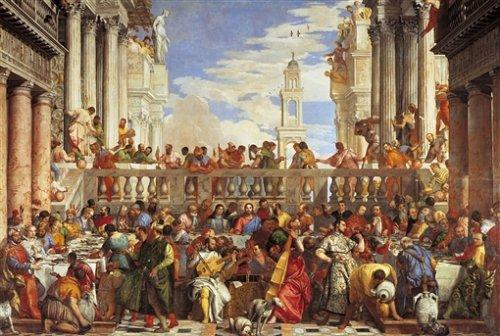 Clementoni 31417.1 -  Veronese - Die Hochzeit zu Kana, 1000 teilig