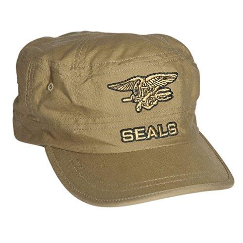 Seal-abzeichen (US Seals Cap coyote)