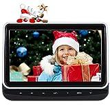 Pumpkin lettore dvd per auto poggiatesta bambiani,10.1 pollici HD schermo,lettore dvd/vcd/cd,supporta AV-in/out