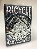 Bicycle Dragon, Pokerkarten-Deck, Playing Cards, Poker-Spielkarten + 3 ''Look & Feel''-Karten, Deckkartenspiele