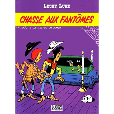 Lucky Luke, tome 37 : Chasse aux fantômes
