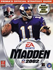 Madden NFL 2002: Official Strategy Guide (Prima's Official Strategy Guides)
