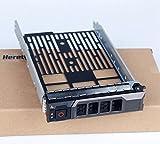 Heretombox 8,9cm SAS SATA Hard Drive Tray Caddy for Dell PowerEdge Server-T440T640R330R430T430R630T630R730R730x d R830R930and more-Hot Swap staffa