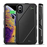 Best EasyAcc Iphone Battery Backups - iPhone XS X Battery Charger Case Qi Wireless Review
