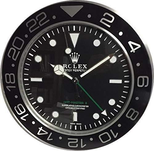 Orologio 35 cm da muro gmt ii master in metallo movimento silenzioso + 2 cd audio omaggio