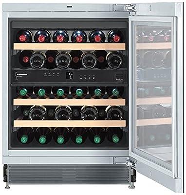 Liebherr UWT 1682 Vinidor - wine coolers (freestanding, Silver, Stainless steel, 5 - 20 °C, SN, ST, A, Silver)