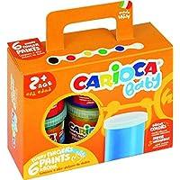 Carioca Finger Paint Botes de Pintura, 6