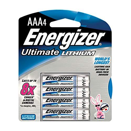 Energizer Lithium AAA 4er Pack Energizer Aaa Lithium-batterien