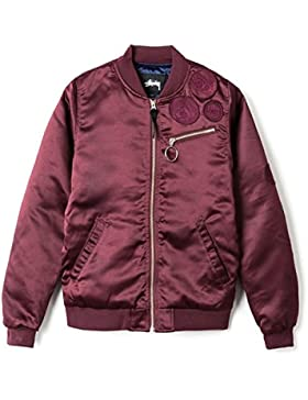 STUSSY Wmns Jodie Bomber Jacket, granate, extra-small