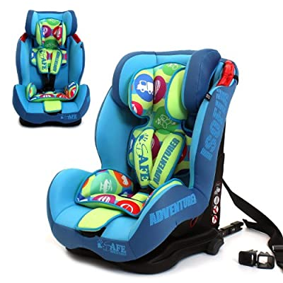 iSafe Isofix Duo Trio Plus and Top Teether Car Seat (Adventurer)  Dorel UK Limited