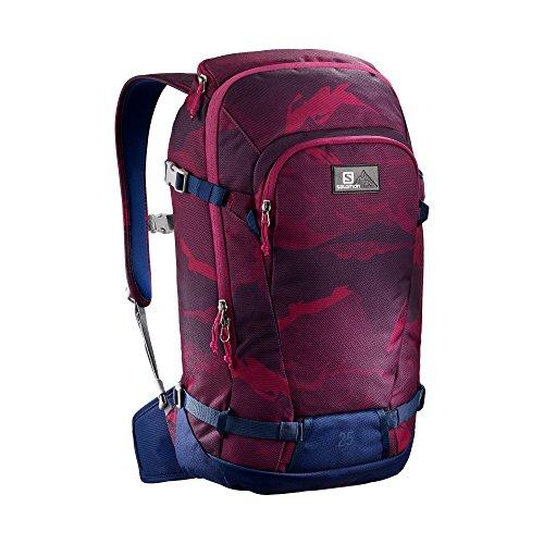 Imagen de salomon bag side 25   , unisex adultos , rojo  beet red/medieval blue