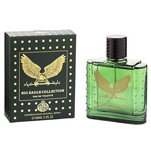 Real Time Eau de Toilette pour Homme Big Eagle Green 100 ml
