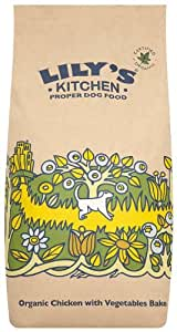 Lily's Kitchen Croquettes pour chien Poulet/légumes Biologique 7,5 kg