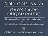J.-S Bach : Oeuvres complètes pour Orgue Volume 7 - BWV 599-644 / Complete Organ Works Volume 7