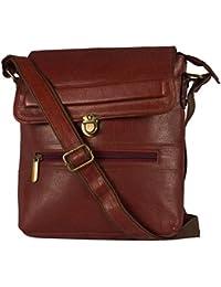 LEATHERMANIAA Genuine Leather Designer Messenger Sling Cross Body With Travel Bag- LMUSX-4