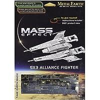 [Import Anglais]Metal Earth Mass Effect SX3 Alliance Fighter 3D Model Kit