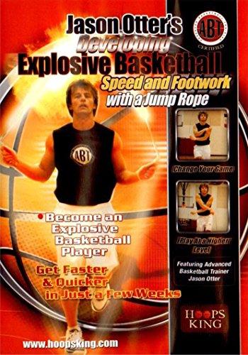 hoopsking Entwicklung Explosive Basketball Speed und Beinarbeit, mit einem Sprung Seil hoopsking