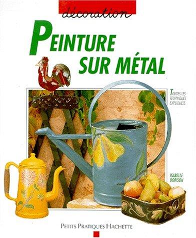 Peinture sur métal par Isabelle Dorison