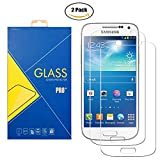[2 Pack] Film Verre Trempé Samsung Galaxy S4 GT-i9500 / i9505 / i9506 / 9500 / 9505 / 9506 - Protection contre chocs et rayures