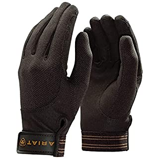 Ariat Tek Grip Gloves Bark 7 1/2
