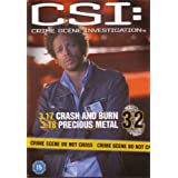 CSI Crime Scene Investigation - Official DVD Collection - Crash And Burn & Precious Metal