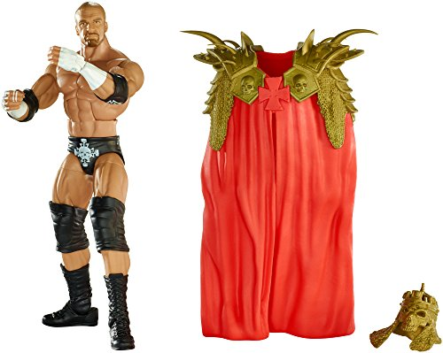 Mattel CHR79 - WWE Elite Collection - 15cm hohe Triple H Action Figur inkl. Zubehör [UK Import] (Wwe Action-figuren Triple H)