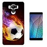 002420 - Fire Flame Ball Football Sport Design Elephone