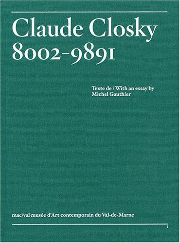 Claude Closky, 8002-9891