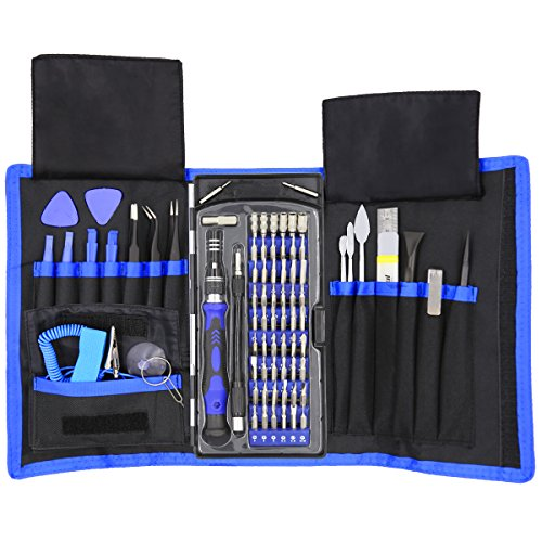 80-in-1-Precision-Screwdriver-Set-with-Magnetic-Driver-KitProfessional-Electronics-Repair-Tool-Kit-with-Portable-Oxford-Bag-for-Repair-Cell-Phone-iPhone-iPad-Watch-Tablet-PC-MacBook-and-More