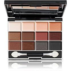 Miss Cop - Palette Maquillage 12 Couleurs Nude