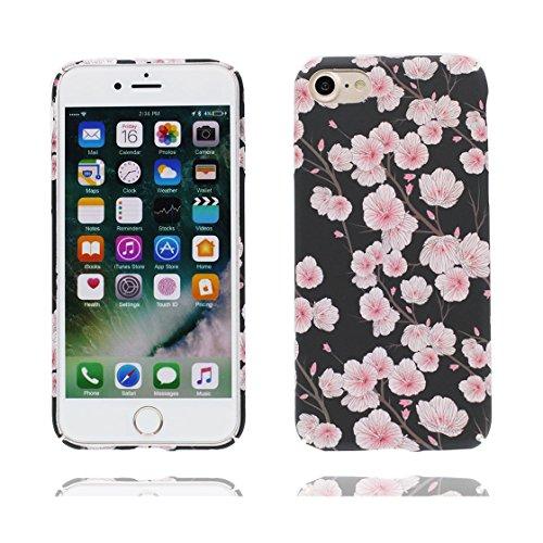 iPhone 7 Plus Custodia, Slim TPU Cartoon Case Cover Shell Progettato per iPhone 7 Plus Copertura (5.5 pollici) ( fiore Fiore di pesco ), prova antipolvere della prova di polvere ( Flower ) color 8