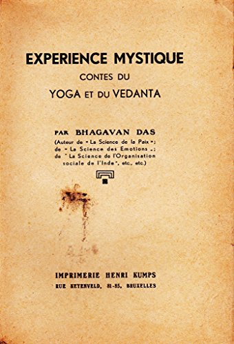 EXPERIENCE MYSTIQUE CONTES DU YOGA ET DU VEDANTA